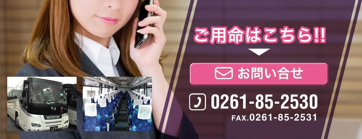 長野の各種観光、貸切バス ラビット観光 | ご用命はこちら